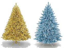Выбираем цвет новогодней елки